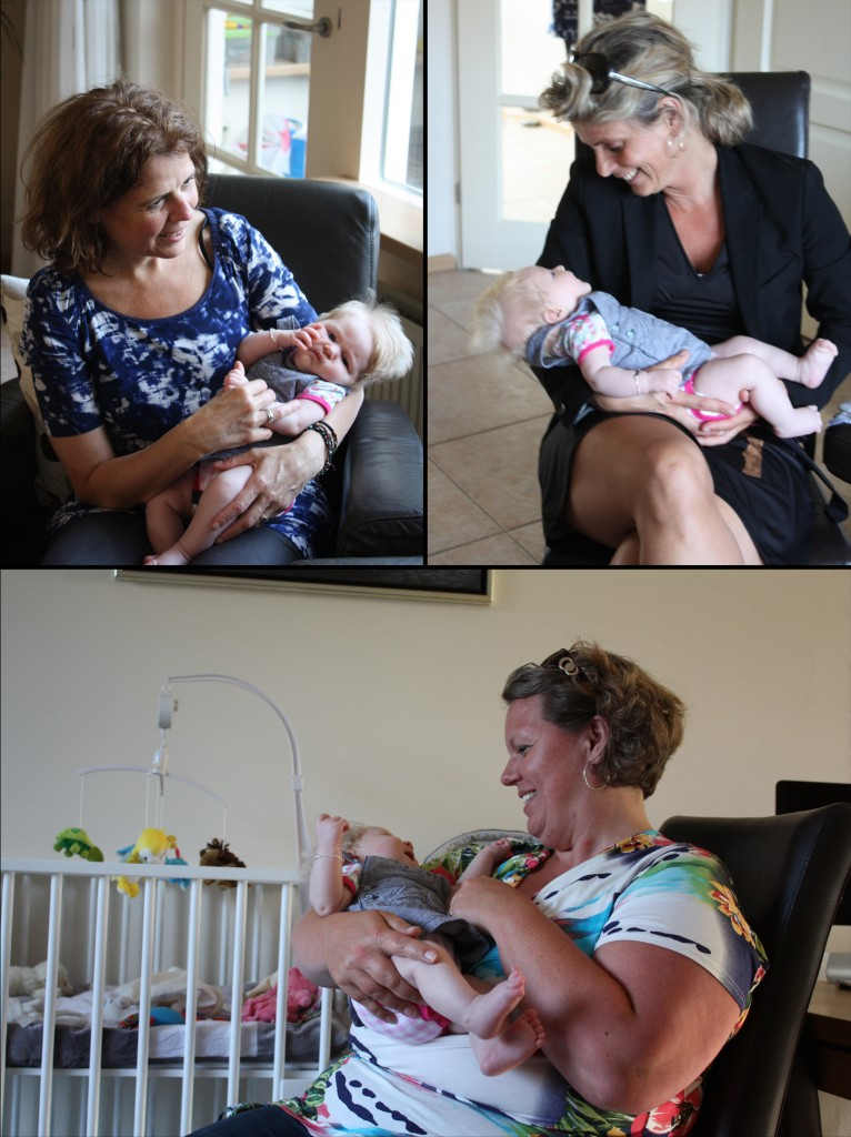 Op de foto met Caroline, Inge en Hilleen van VBK