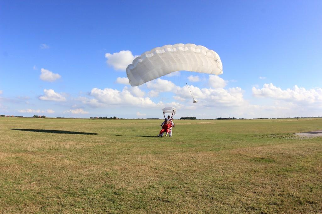 Gelukkig een hele veilige landing!